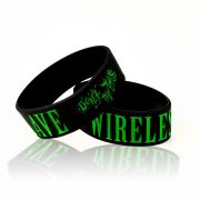 """Don't Try This"" ""Wireless Slave"" Wrist Band"
